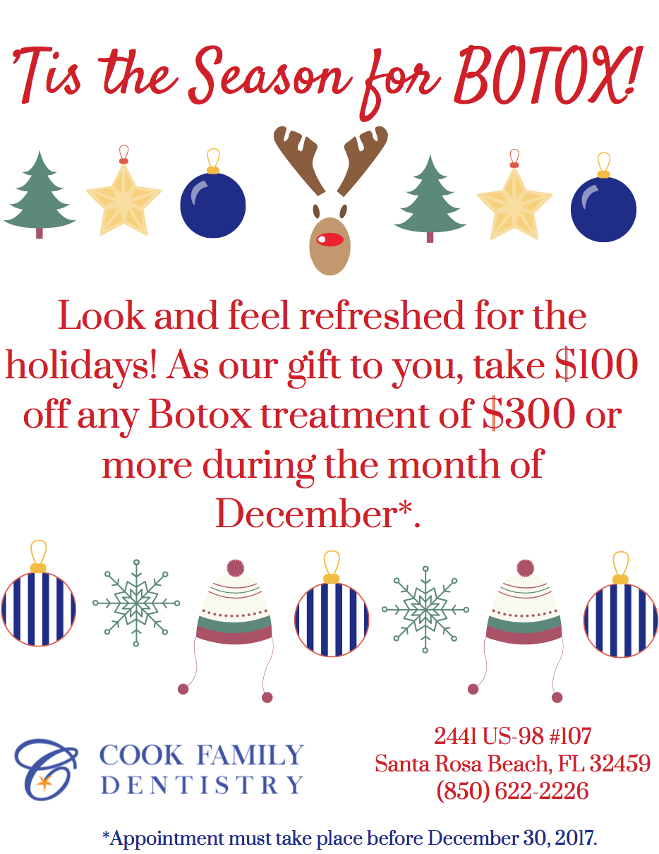 Special Holiday Edition Tis Season For >> Tis The Season For Botox Take Advantage Of Our December Special